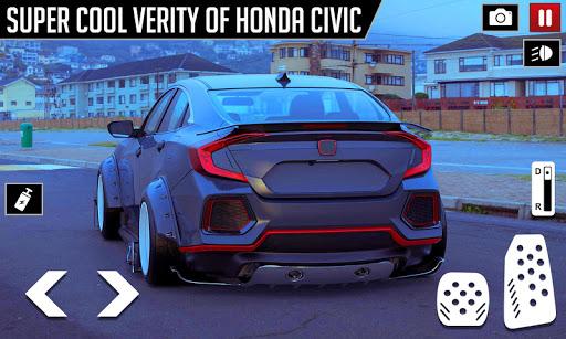 Civic Drifting and Driving Simulator Game  screenshots 4