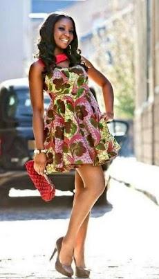 アンカラのファッションドレスのおすすめ画像2