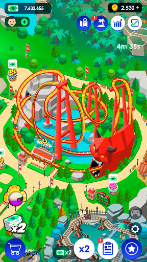 Idle Theme Park Tycoon - Recreation Game  screenshots 6