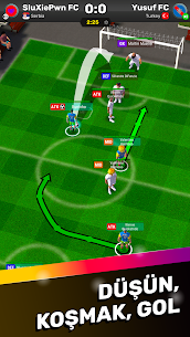 Football Tactics Arena  Turn-based Soccer Strategy Apk İndir 5