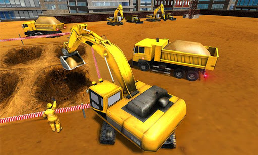 Supermarket Construction Games:Crane operator 1.6.0 screenshots 3
