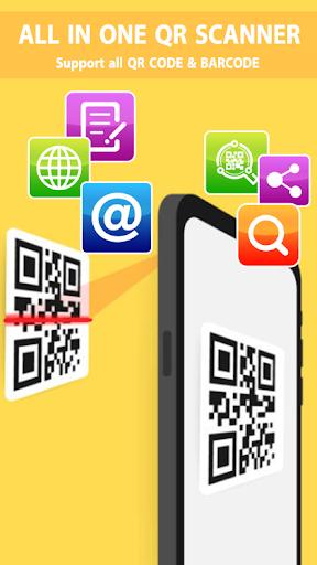 QR Code Reader Barcode Scanner PRO screenshot 1
