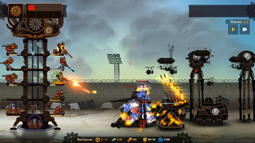 Steampunk Tower 2: The One Tower Defense Strategy screenshots 8