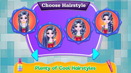Cosplay Girl Hair Salon