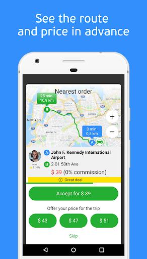 inDriver u2014 Better than a taxi 3.24.1 Screenshots 6