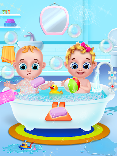 Mom & newborn babyshower - Babysitter Game  screenshots 11
