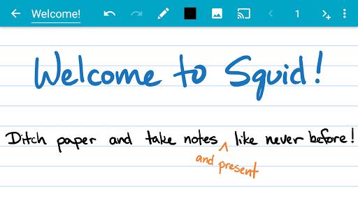 Squid - Take Notes & Markup PDFs  Screenshots 1