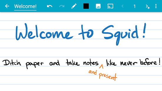 Squid - Take Notes & Markup PDFs Screenshot