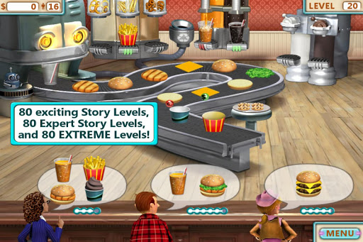 Burger Shop 1.6 screenshots 1