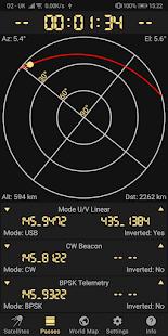 Look4Sat: Radio satellite tracker