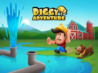 Diggy's Adventure: Challenging Puzzle Maze Levels Screenshot