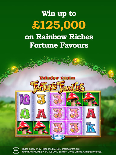 Rainbow Riches Casino: Slots, Roulette & Casino screenshots 3