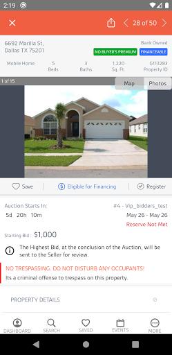 Xome Auctions apktram screenshots 4