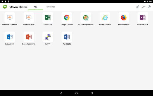 VMware Horizon Client 8.0.5 screenshots 6