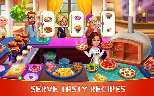 Cooking Cafe – Restaurant Star : Chef Tycoon 3.4 screenshots 1