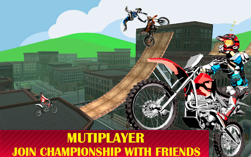Motorcycle racing Stunt : Bike Stunt free game 2.1 screenshots 5