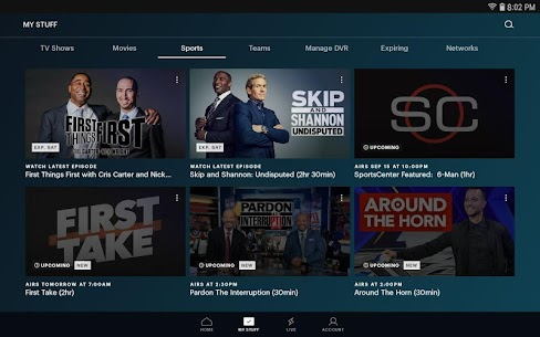 Hulu for Android TV 2