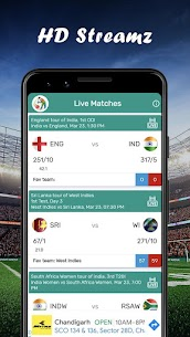 HD Streamz – Live TV Cricket and TV Serial TIPs 3