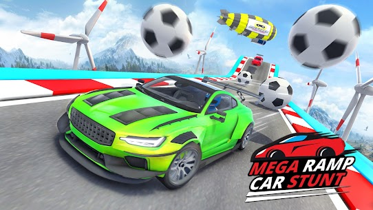 Ramp Car Stunts 2021 – Mega Ramps Car Stunt Races 4