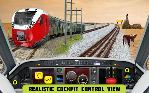 Cockpit Train Simulator apkpoly screenshots 11