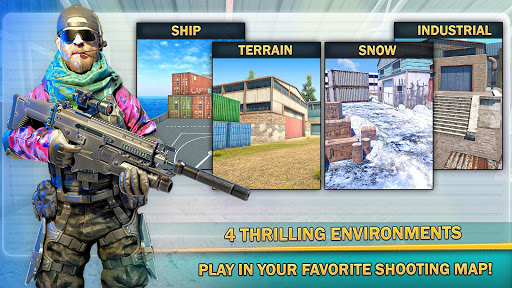 Anti Terrorist Shooting Squad-Combat Mission Games apktram screenshots 5