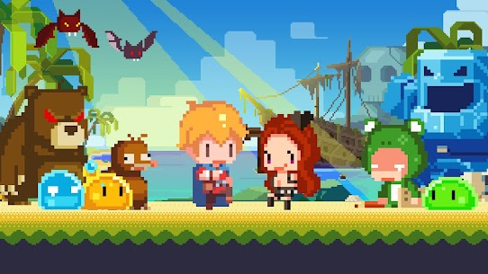 Tiny Pixel Knight – Idle RPG Adventure Tales Mod Apk 1.0.5 (Mod Gold Coins) 2