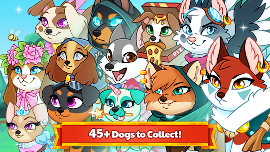 Dungeon Dogs – Idle RPG Mod Apk (Free Shopping + Unlimited Money) 1.1 4