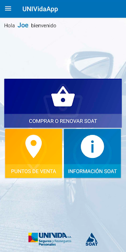UNIVidaApp modavailable screenshots 2