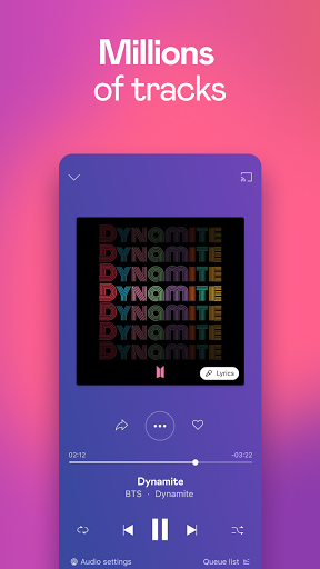 Deezer Music Player: Songs, Playlists & Podcasts  screenshots 1
