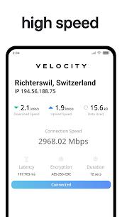 Velocity VPN (No Ads) – Unlimited for Free! (Pro/ Mod APK) v1.1.3 2