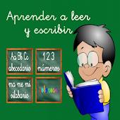 icono APRENDER A LEER Y ESCRIBIR