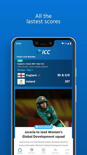 ICC - Live International Cricket Scores & News  screenshots 3