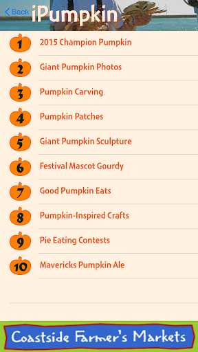 iPumpkin: HMB Pumpkin Festival For PC Windows (7, 8, 10, 10X) & Mac Computer Image Number- 13