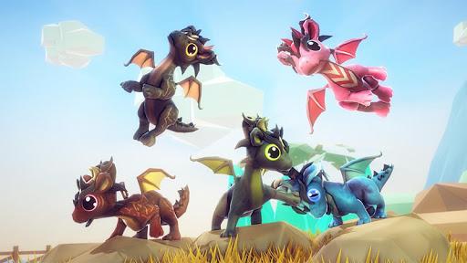 Little Dragon Heroes World Sim Apkfinish screenshots 18