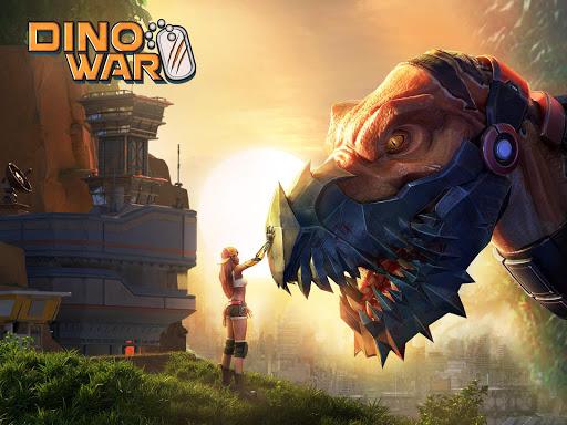 Télécharger Dino War  APK MOD (Astuce) screenshots 1