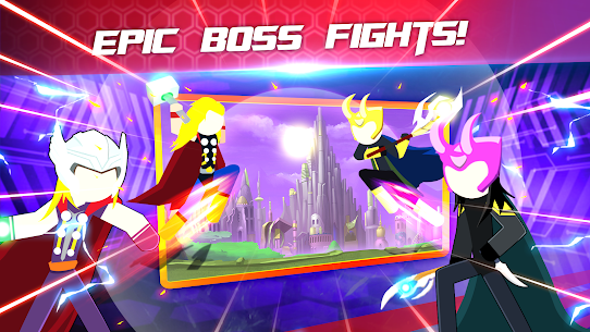 Super Stickman Heroes Fight Mod 2.5 Apk [Unlimited Money] 4