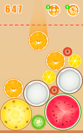 Fruit Crush - Merge Watermelon  screenshots 2
