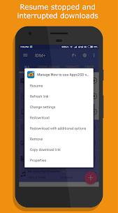 1DM+ [formerly IDM+]: Video, Torrent Downloader (MOD, Paid) v12.9 4