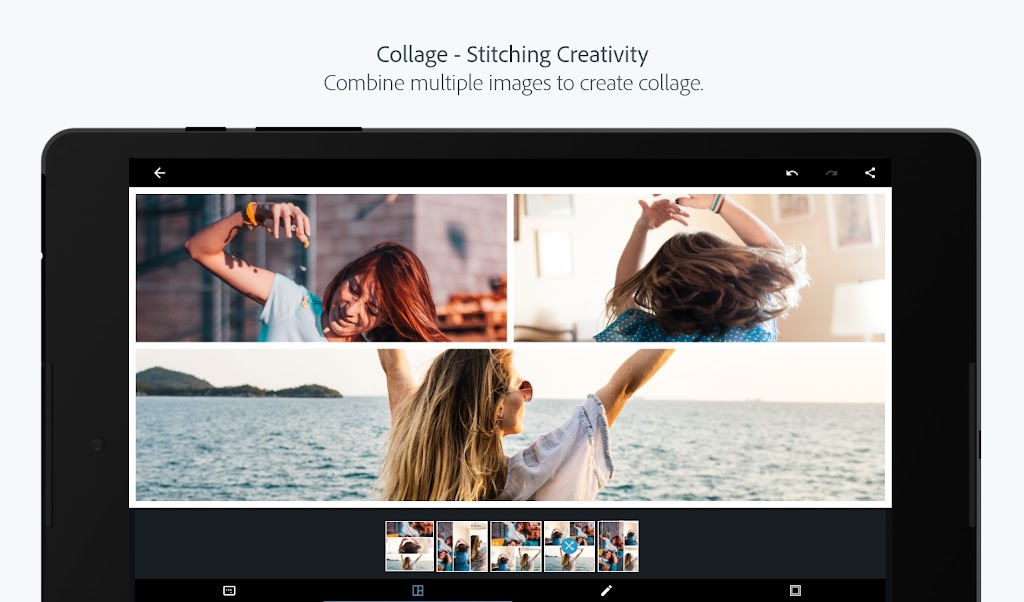 Adobe Photoshop Express:Photo Editor Collage Maker  poster 12