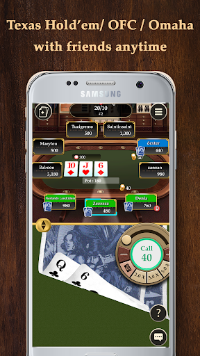 Pokerrrr 2 - Poker with Buddies 4.7.8 Screenshots 3