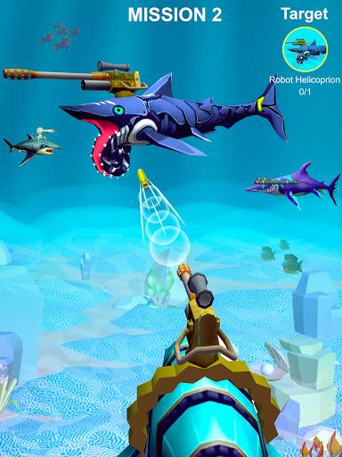 Code Triche Jurassic Sea Attack APK MOD (Astuce) screenshots 1