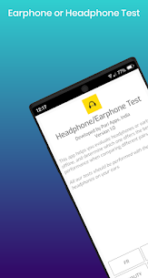 Earphone and Headphone Test Apk 1.0 (Paid) 2