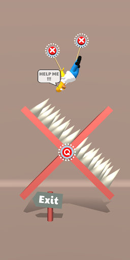 Save the Dude! Rope Puzzle Game 1.0.33 screenshots 8