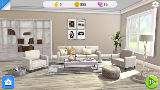 Home Design Makeover - Screenshot 4