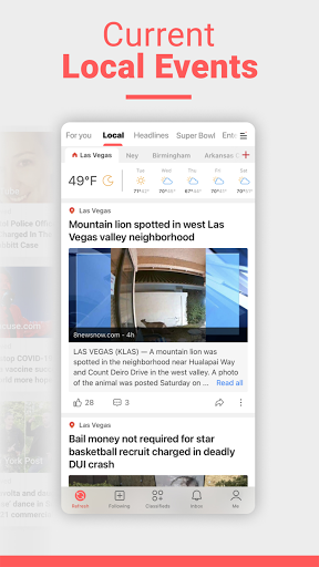 NewsBreak: Local News that Connects the Community android2mod screenshots 3