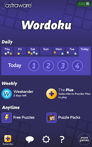 Astraware Wordoku 2.62.003 screenshots 8