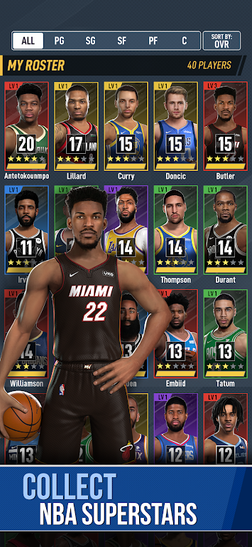 NBA Ball Stars: Play with your Favorite NBA Stars poster 1