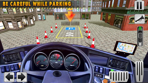 Modern Bus Simulator New Parking Games u2013 Bus Games Apkfinish screenshots 6