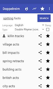 Rhymes for Rap (Multisyllabic), poetry slam/lyrics screenshots 5