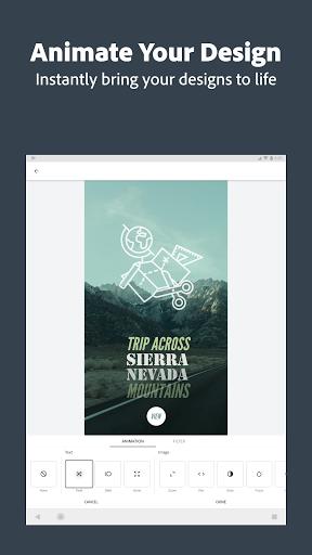 Adobe Spark Post: Graphic Design & Story Templates  screenshots 12